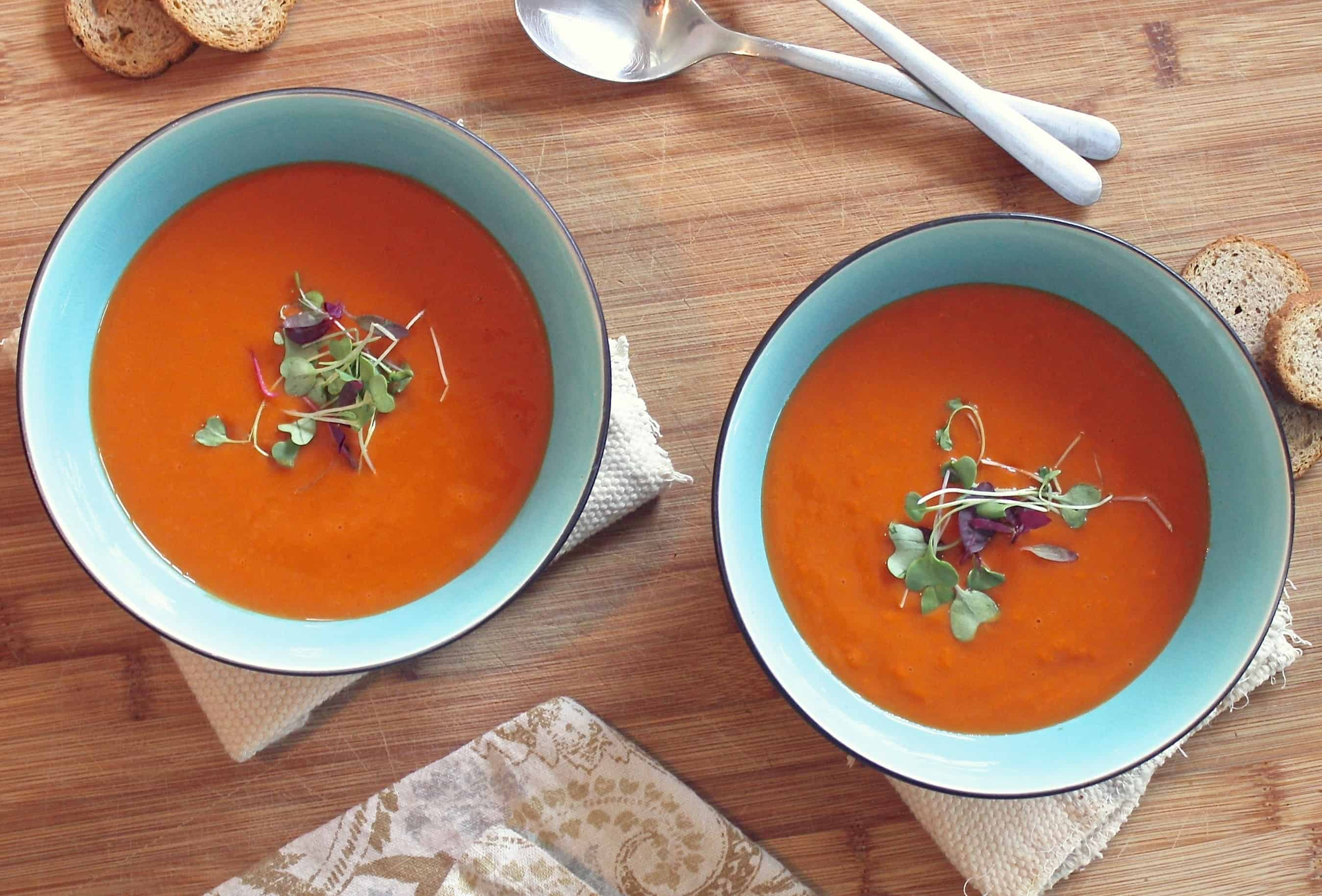 Anti-Inflammatory Carrot Ginger Soup Recipe